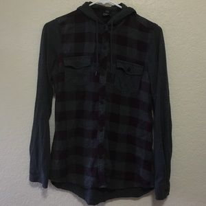 Empyre Flannel with Hoodie